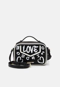 Love Moschino - TOP HANDLE GRAFFITI CROSS BODY - Across body bag - fantasy color - 1