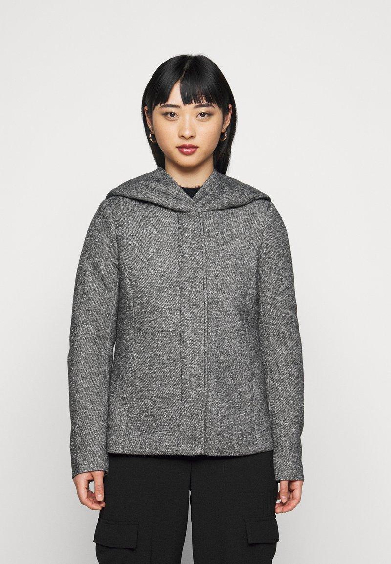 ONLY Petite - ONLSEDONA JACKET - Kevyt takki - dark grey melange