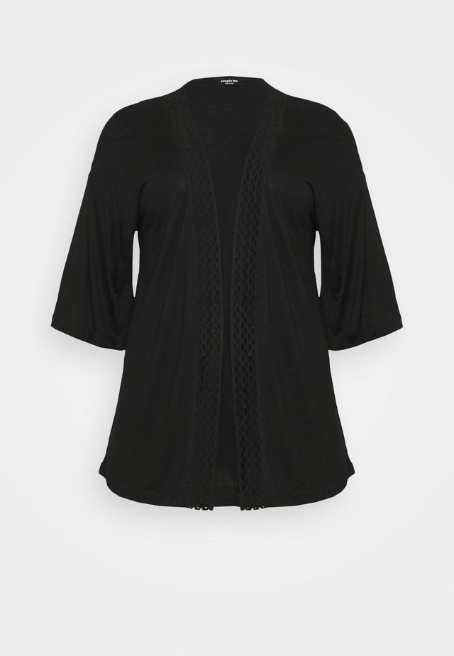 COVER UP - Giacca leggera - black