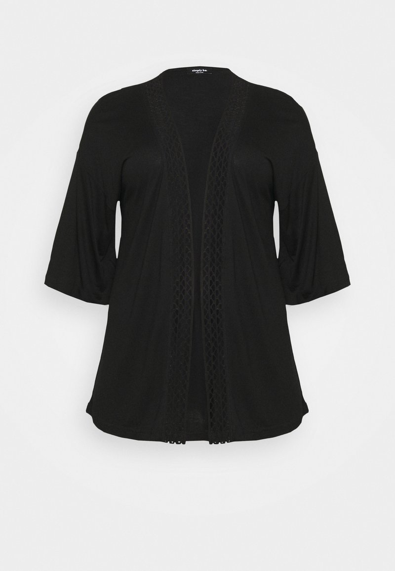 Simply Be - COVER UP - Summer jacket - black