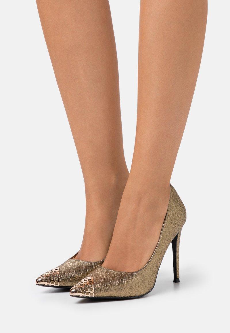 Wallis - PRETTY - High heels - gold/bronze