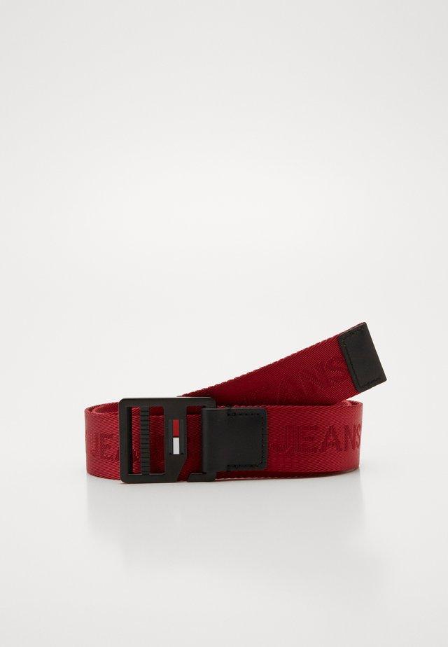 BELT - Ceinture - red