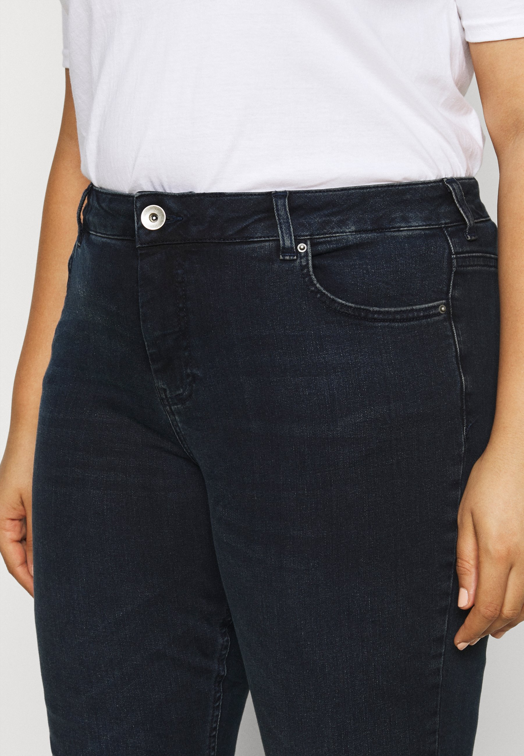 Zizzi Jeans Skinny Fit - dark blue denim - Women's Clothing rXPr1