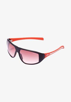 Solbriller - rot/weiß