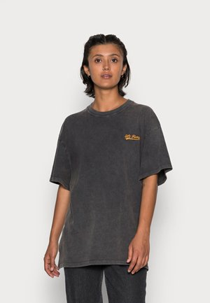BOYFRIEND TEE - T-shirt basic - charcoal asphalt