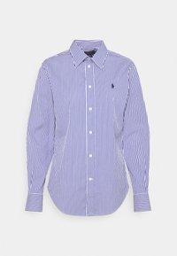 Polo Ralph Lauren - STRETCH - Button-down blouse - navy/white - 4