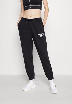 PANT - Tracksuit bottoms - black