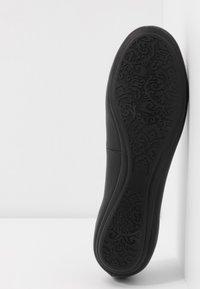 Anna Field - LEATHER BALLET PUMPS - Ballet pumps - black - 6