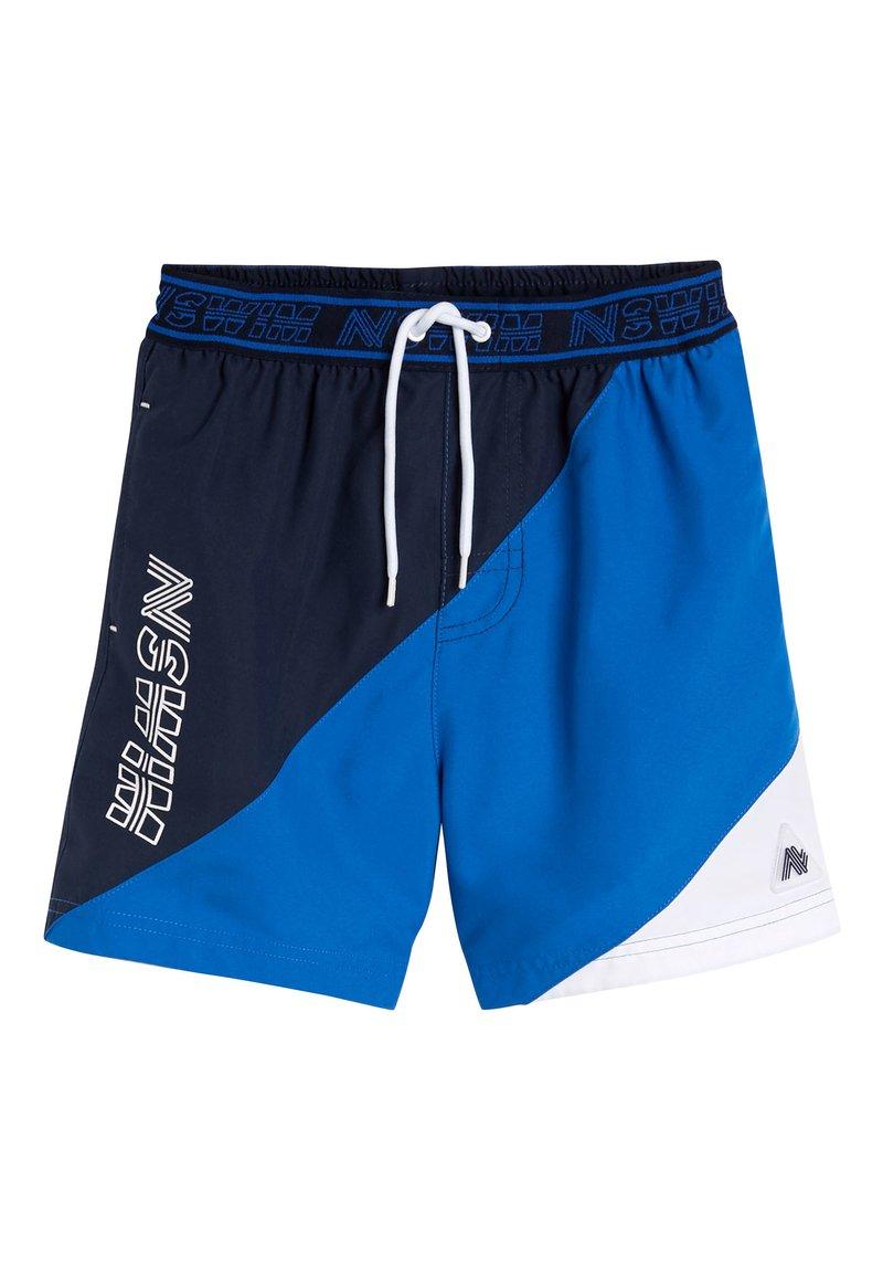 Next - BLUE COLOURBLOCK SWIM SHORTS (3-16YRS) - Swimming shorts - blue