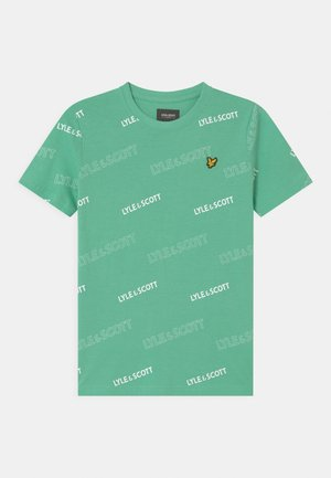 OUTLINE  - Print T-shirt - neptune green