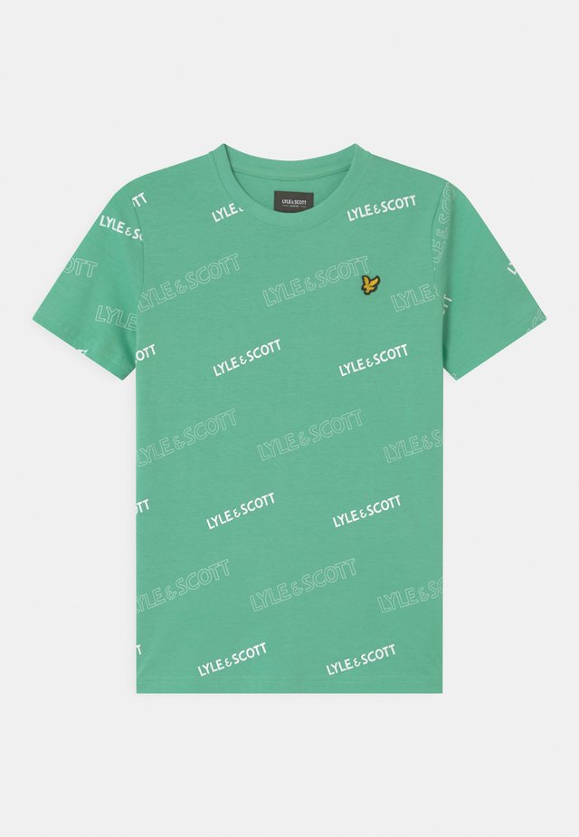 OUTLINE  - T-shirts print - neptune green