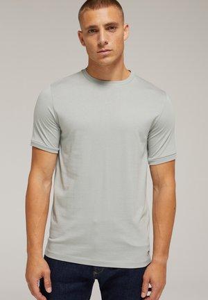 SLIM FIT  - Basic T-shirt - greyish green