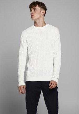 Strikkegenser - blanc de blanc