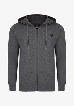 CHURA - Zip-up sweatshirt - grau