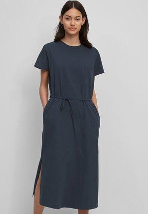 Jersey dress - dress blue