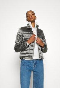 Opus - HALISA - Light jacket - slate grey melange - 0