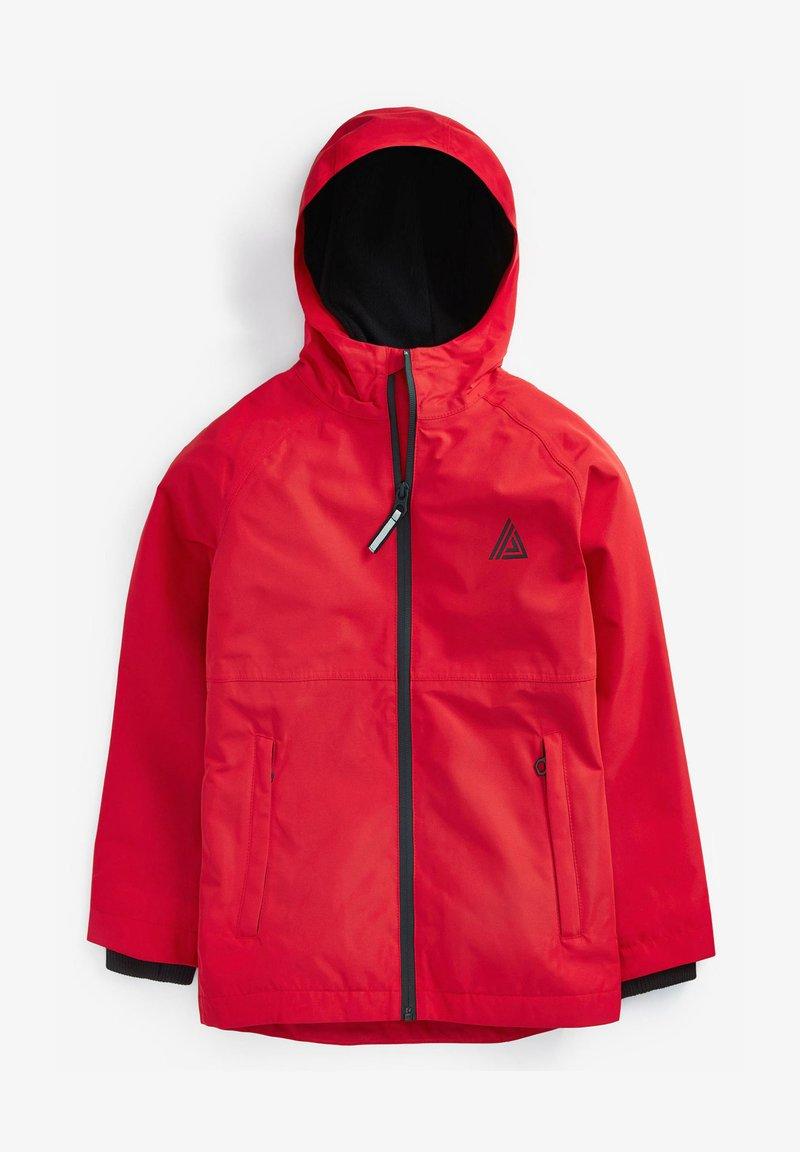 Next - FULLY - Waterproof jacket - red