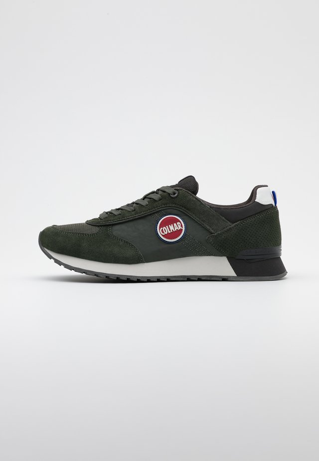 TRAVIS - Baskets basses - military green/dark grey