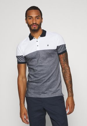 SHORT SLEEVE 2 TONE - Polo shirt - navy