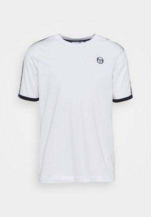 NORTO  - Print T-shirt - white/blue