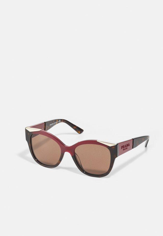 Sonnenbrille - cherry/dark havana
