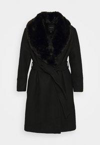 Forever New Curve - EMORY WRAP COAT - Classic coat - black - 5