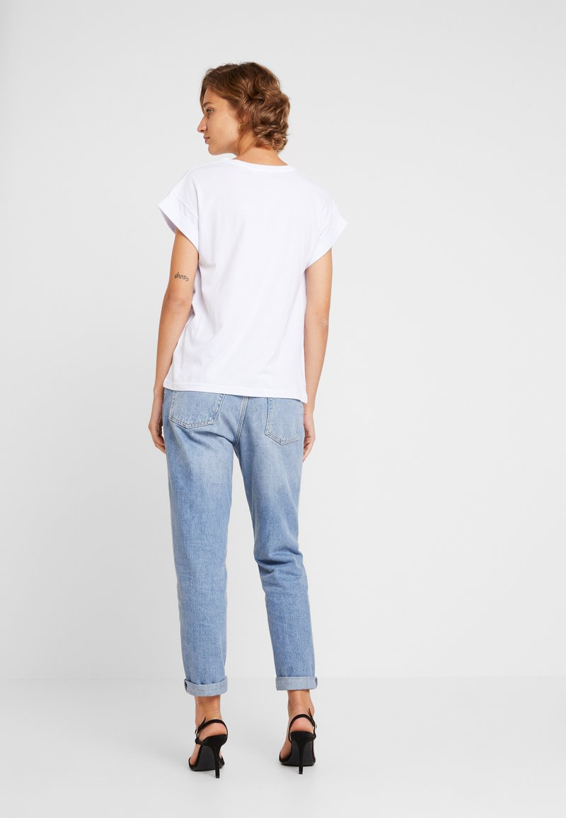Moss Copenhagen - ALVA TEE - Basic T-shirt - white