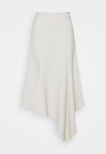 RIO - Áčková sukně - pearl white