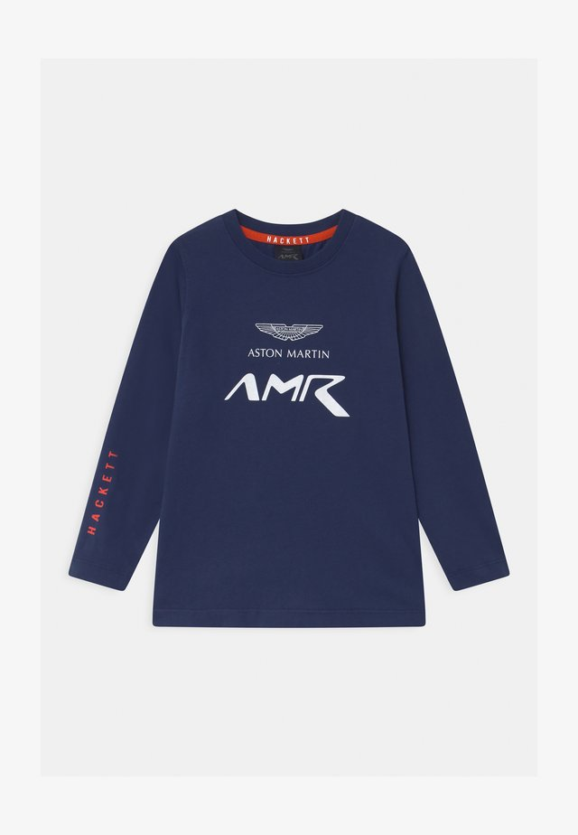 LOGO - Maglietta a manica lunga - moto blue