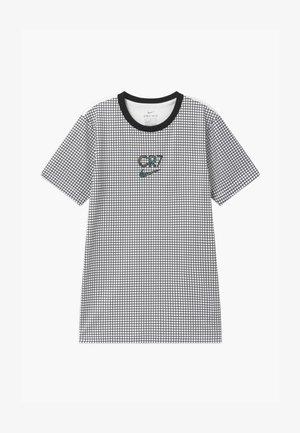 CR7 DRY - Print T-shirt - white/black/iridescent