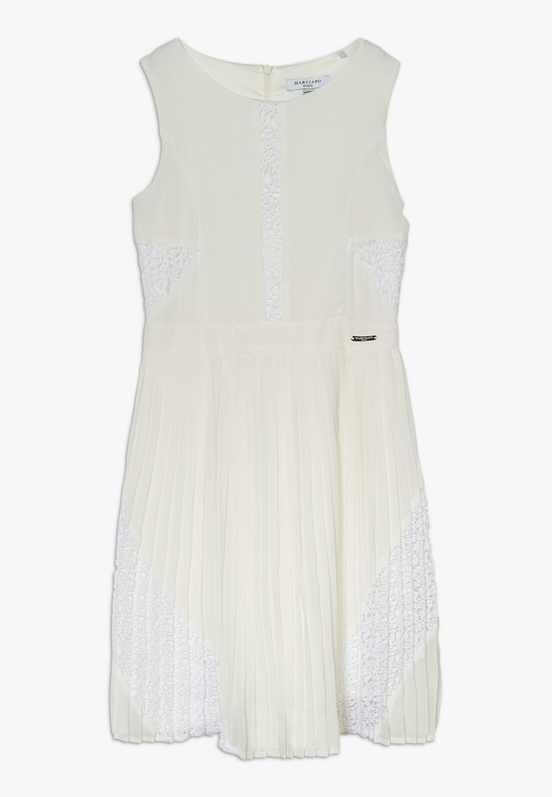 Guess - DRESS MARCIANO - Cocktailjurk - blanc pur
