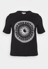 ONLY Carmakoma - CARLANDA - Print T-shirt - black - 3