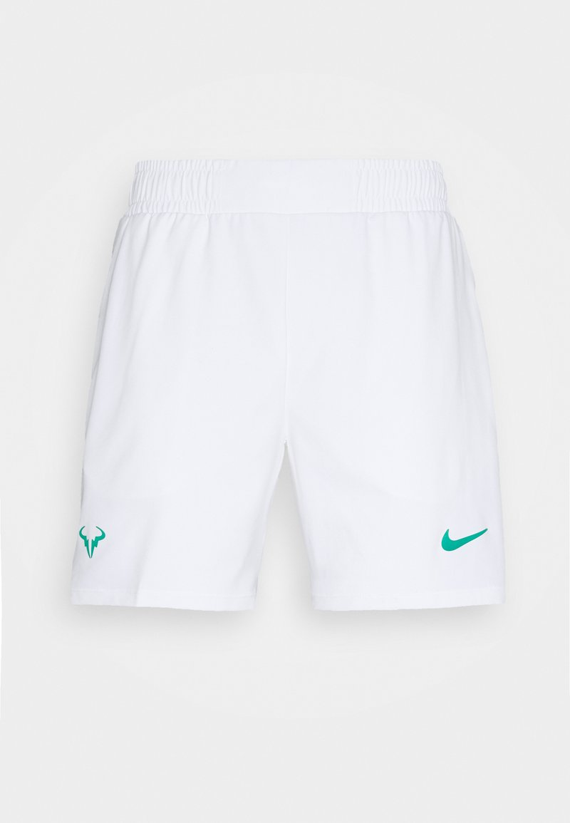 Nike Performance - RAFAEL NADAL SHORT - Sports shorts - white/lucid green