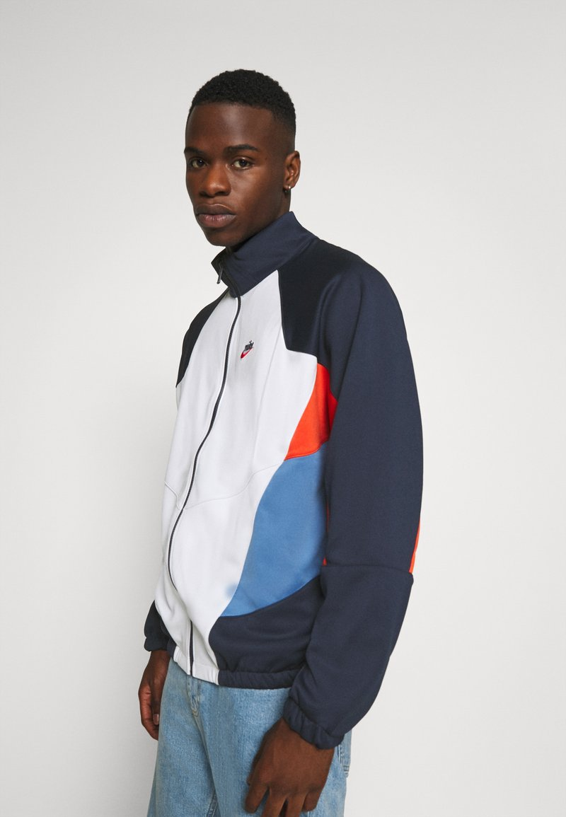 Nike Sportswear - Summer jacket - obsidian/photon dust/mantra orange
