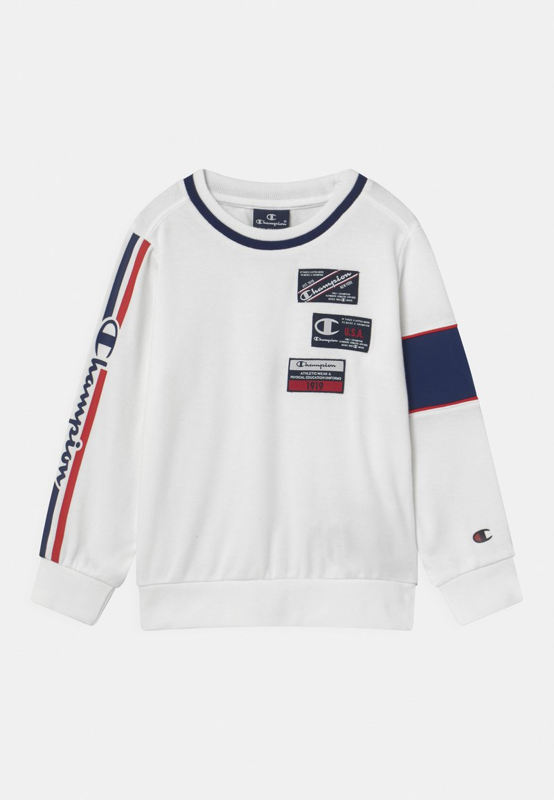 Champion - BASKET GAME CREWNECK UNISEX - Collegepaita - white
