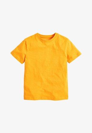 T-shirt basic - ochre