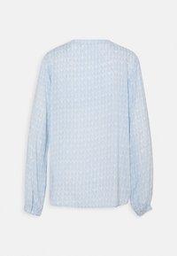 Kaffe - FANA TILLY BLOUSE - Long sleeved top - blue/chalk - 1
