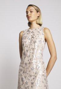 Lauren Ralph Lauren - ASTOR LONG GOWN - Vestido de fiesta - belle rose/silver - 6