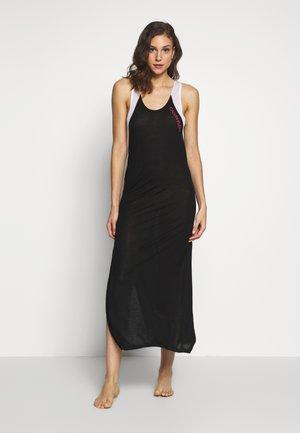 BLOCKING TANK DRESS - Camicia da notte - black