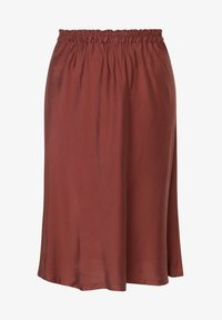 INAN ISIK - A-line skirt - braun - 0
