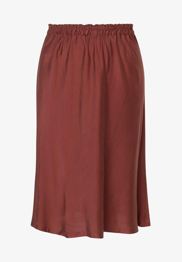 A-snit nederdel/ A-formede nederdele - braun