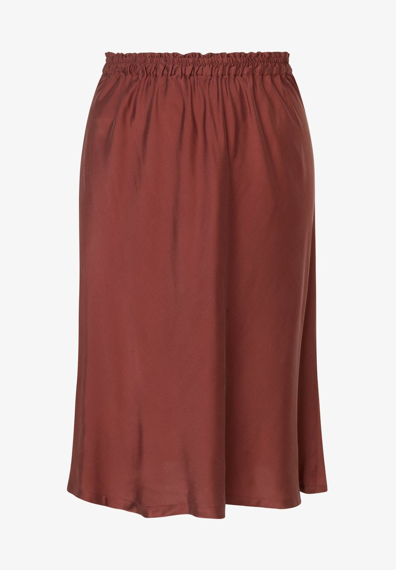 INAN ISIK - A-line skirt - braun