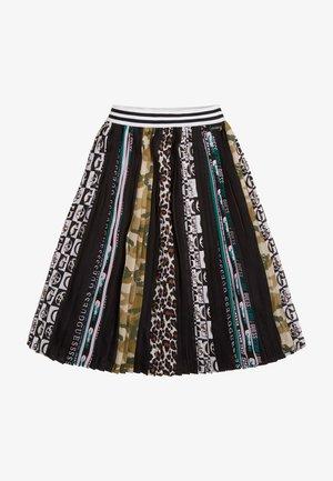 Pleated skirt - mehrfarbig schwarz