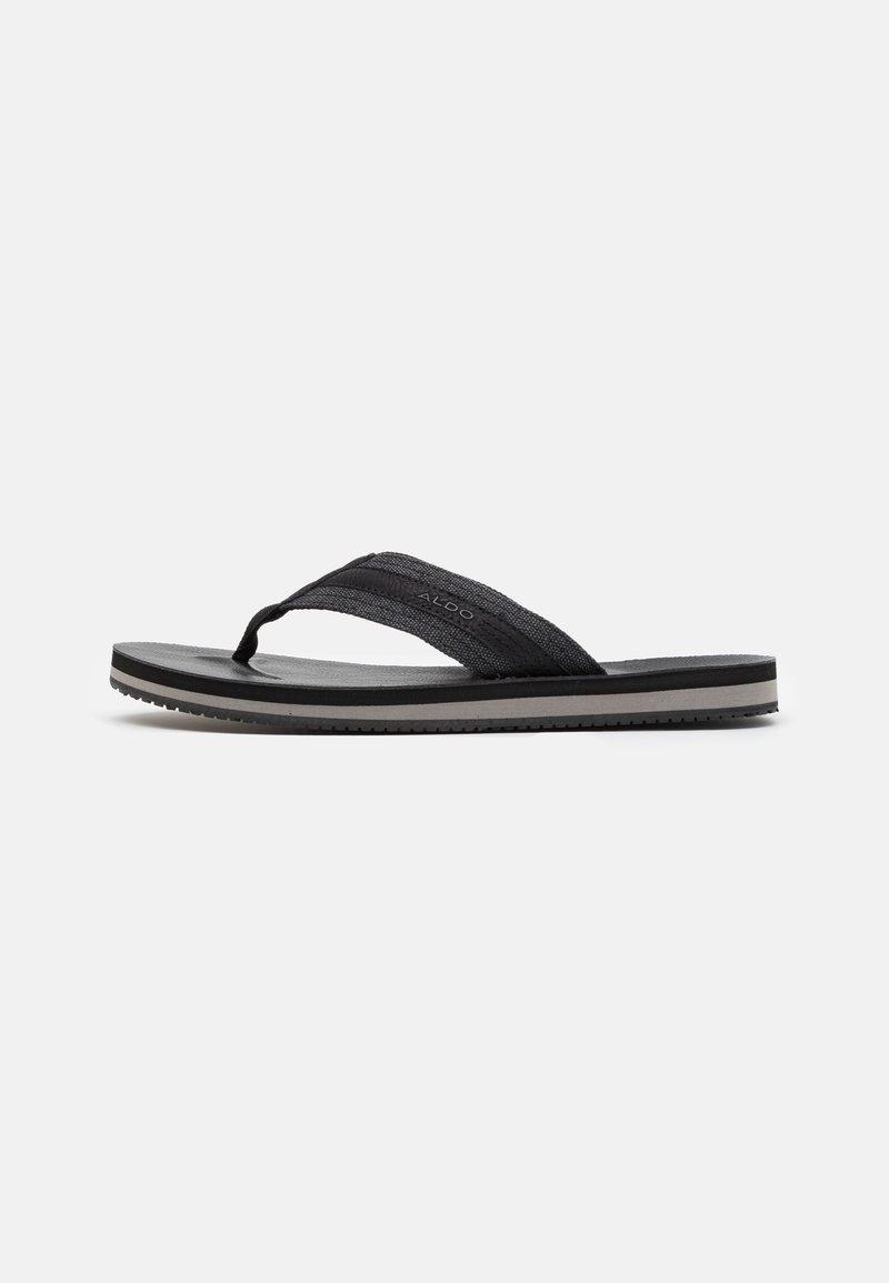 ALDO - DUBOST - Sandály s odděleným palcem - black