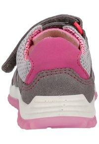 Pepino - Trainers - graphite/grey/pink - 3