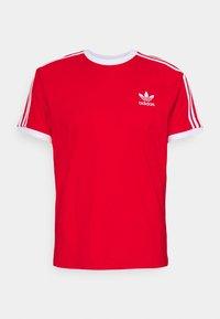 adidas Originals - STRIPES TEE - T-shirt print - red - 0