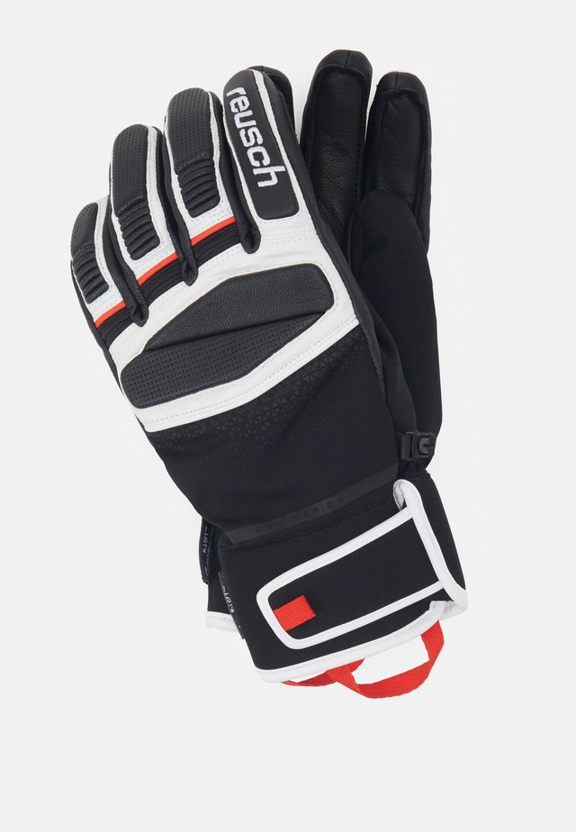 MASTERY - Handschoenen - black/white/fire red
