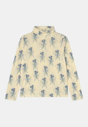 WINTERFLOWERS TURTLENECK TEE UNISEX - Long sleeved top - blue