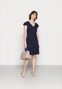 Anna Field - WOVEN VOLANT DRESS - Kjole - blue - 1