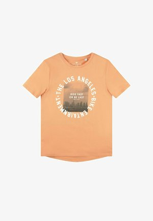 MIT PRINT - T-shirt print - washed neon orange orange
